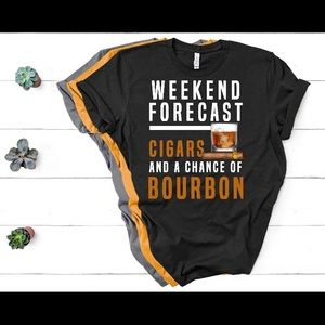 Weekend Forecast Cigars with a chance of bourbon